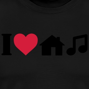 I Love House Music Sports wear - Men's Premium T-Shirt
