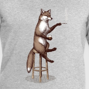 The Fox at the Bar Tee shirts - Sweat-shirt Homme Stanley & Stella