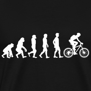 Evolution Bicycle Tops - Männer Premium T-Shirt