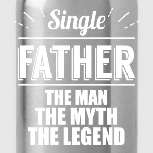 Single father the man, the myth, the legend  - Water Bottle