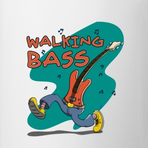 Walking Bass - Jazz Bassgitarre Felpe - Tazza
