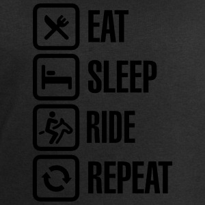 Eat sleeps horse ride repeat Tee shirts - Sweat-shirt Homme Stanley & Stella