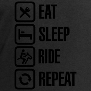 Eat sleeps horse ride repeat Sportkläder - Sweatshirt herr från Stanley & Stella