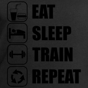Eat,sleep,train,repeat Gym T-shirt - Felpa da uomo di Stanley & Stella
