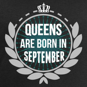 QUEENS ARE BORN IN SEPTEMBER T-Shirts - Men's Sweatshirt by Stanley & Stella