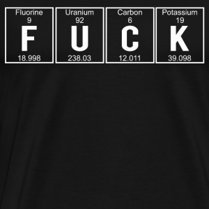 FUCK ELEMENTS Sweaters - Mannen Premium T-shirt