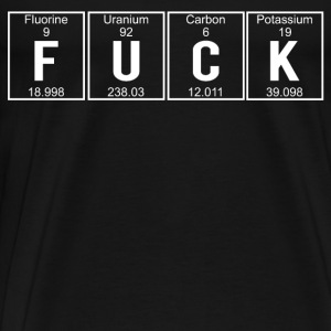 Fuck elements - Mannen Premium T-shirt