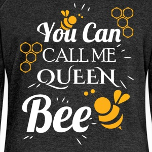 You can call me queen bee - Women's Boat Neck Long Sleeve Top