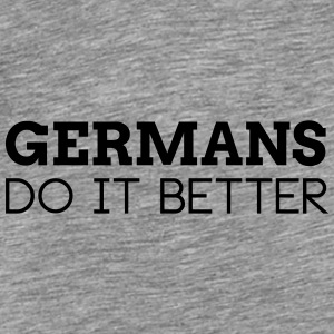GERMANS DO IT BETTER Caps & Hats - Men's Premium T-Shirt