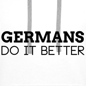 GERMANS DO IT BETTER Bags & Backpacks - Men's Premium Hoodie