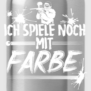Paintball - Farbe - Trinkflasche