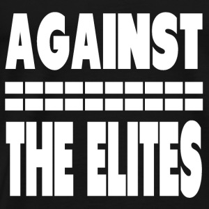 Against The Elites Baby Long Sleeve Shirts - Men's Premium T-Shirt