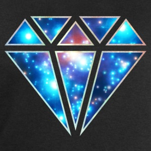 Diamond, galaxy style, triangle, space, symbol,  T-Shirts - Men's Sweatshirt by Stanley & Stella