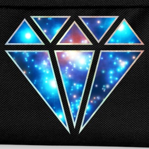Diamond, galaxy style, triangle, space, symbol,  T-Shirts - Kids' Backpack