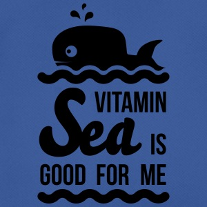 Vitamin-sea is good for me Welle Meer Strand Wal Taschen & Rucksäcke - Männer T-Shirt atmungsaktiv