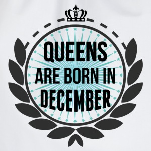 Queens Are Born In December Hoodies & Sweatshirts - Drawstring Bag
