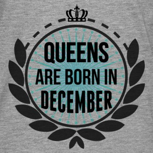 Queens Are Born In December Hoodies & Sweatshirts - Men's Premium Longsleeve Shirt