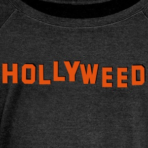 Cannabis Hollywood = Hollyweed - Pull Femme col bateau de Bella