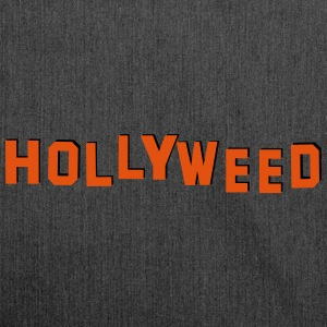 Cannabis Hollywood = Hollyweed - Sac bandoulière 100 % recyclé