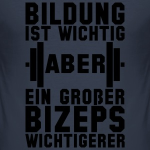 Bizeps - Männer Slim Fit T-Shirt