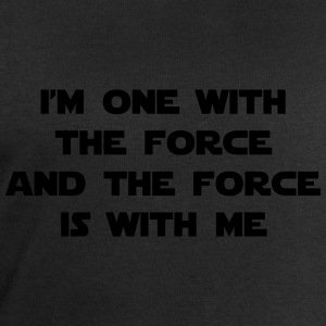 I am one with The Force and The Force is with me T-Shirts - Men's Sweatshirt by Stanley & Stella