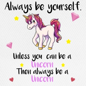 always yourself unicorn T-Shirts - Baseballkappe