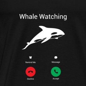The whales call Baby Long Sleeve Shirts - Men's Premium T-Shirt