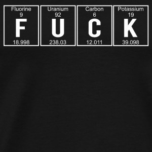 Fuck elements mug - Mannen Premium T-shirt