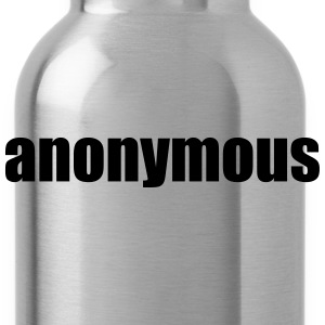 Anonymous T-Shirts - Water Bottle