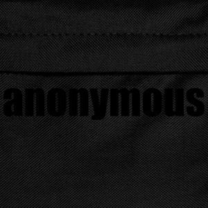 Anonymous Tee shirts - Sac à dos Enfant