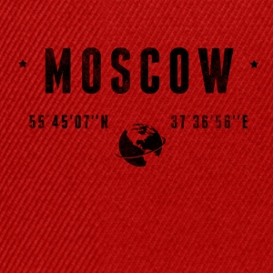 Moscow T-skjorter - Snapback-caps