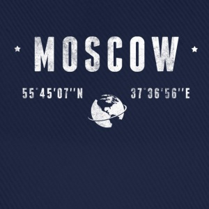 Moscow T-shirts - Basebollkeps