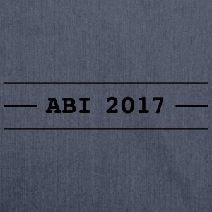ABI 2017 - Schultertasche aus Recycling-Material