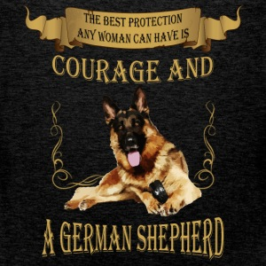 The best protection any woman can have is courage  - Men's Premium Tank Top