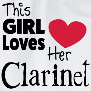 This Girl Loves Her Clarinet T-shirts - Gymnastikpåse