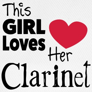 This Girl Loves Her Clarinet Tee shirts - Casquette classique