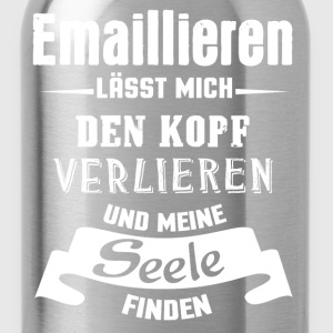 Emaillieren - Seele T-Shirts - Trinkflasche