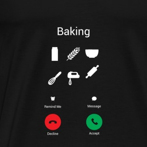 The kitchen calls Baby Long Sleeve Shirts - Men's Premium T-Shirt