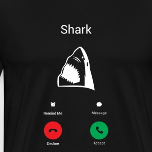 The shark Hoodies & Sweatshirts - Men's Premium T-Shirt