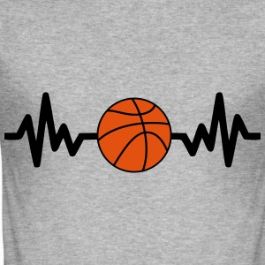 basket basketball is life Sweaters - slim fit T-shirt