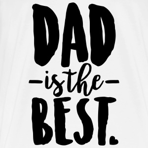 Dad is the best Baby Bodys - Männer Premium T-Shirt