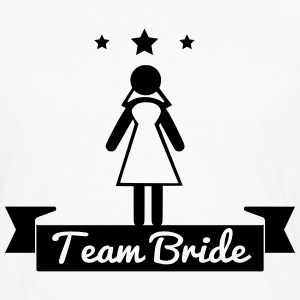 Team bride - hen party T-shirts - Mannen Premium shirt met lange mouwen