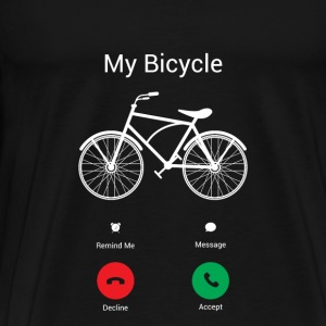 My bike gets! Hoodies & Sweatshirts - Men's Premium T-Shirt