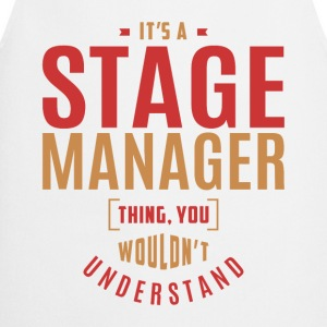 Stage Manager T-shirt - Cooking Apron