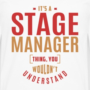 Stage Manager T-shirt - Men's Premium Longsleeve Shirt