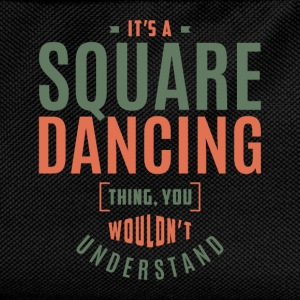 Square Dancing T-shirt - Kids' Backpack