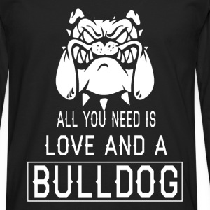 All you need is love and a Bulldog - Men's Premium Longsleeve Shirt