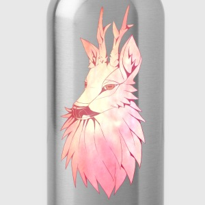 Reh in rosé Top - Trinkflasche