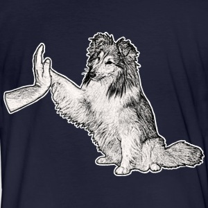 Sheltie Team Player - Männer Bio-T-Shirt