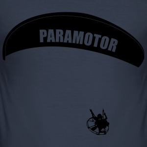paramotor Pullover & Hoodies - Men's Slim Fit T-Shirt